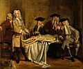 The anatomy of Dr Willem Roell. Oil painting by B. F. Landis Wellcome V0017133.jpg