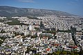 The city of Athens and Mount Hymettus from Mount Lycabettus on June 6, 2020.jpg