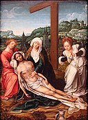 The lamentation by Bernard van Orley or follower Bonnefantenmuseum 71.jpg