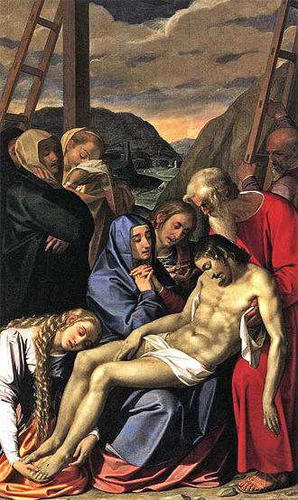 Counter-Maniera - Lamentation, Scipione Pulzone, 1593
