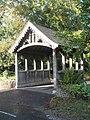 The lych gate at St John the Baptist, Greatham - geograph.org.uk - 1530967.jpg