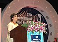 The noted film star Aparna Sen addressing the Closing Ceremony of the 37th International Film Festival of India (IFFI-2006) in Panaji, Goa on December 3, 2006 (1).jpg