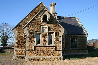Sproxton, Leicestershire - Image: The old school, Sproxton geograph.org.uk 700813