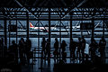 The quiet excitement of travelling ( -Portugal -Lisbon -airport) (15382938416).jpg