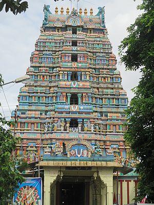 Soundararajaperumal temple, Nagapattinam - Image: Thirunagai 13