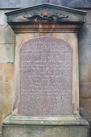 Thomas Jackson Crawford - Thomas Jackson Craword's grave, Dean Cemetery
