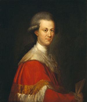 Richard Brompton - Portrait of Thomas Lyttelton, 2nd Baron Lyttelton, ca. 1775. Now at the National Portrait Gallery.