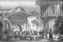 Ворота (Bâb-ı Âlî) Блистательной Порты