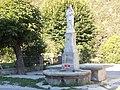 Thorame Gare statue près chapelle ND de la Fleur.JPG