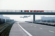 Thunderbold II A10 landing on autobahn 1984 DoD DF-ST-84-09440