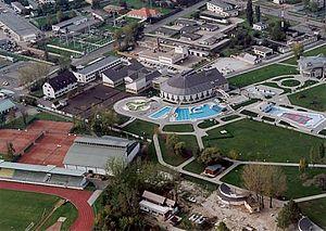 Tiszaújváros - Aerial view