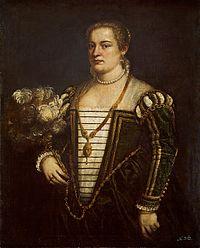 Titian - Portrait of his daughter Lavinia GG 3379.jpg