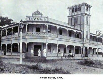 Tivoli Hotel, Apia 1896