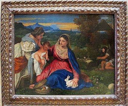 Tiziano, madonna del coniglio, 1525-30 ca. 02.JPG