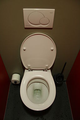 Toilet in german theater munich