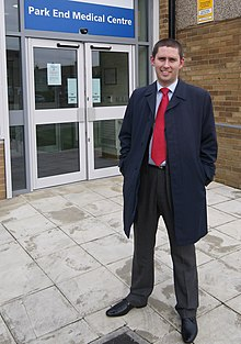 Tom Blenkinsop MP at Park End Medical Centre.jpg