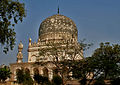 Tomb of Muhammad Qutb Shah in Hyderabad W IMG 4634.jpg
