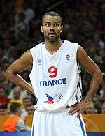 Parker con la nazionale francese nel 2011.
