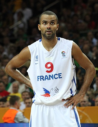 Tony Parker - Parker playing for France in 2011