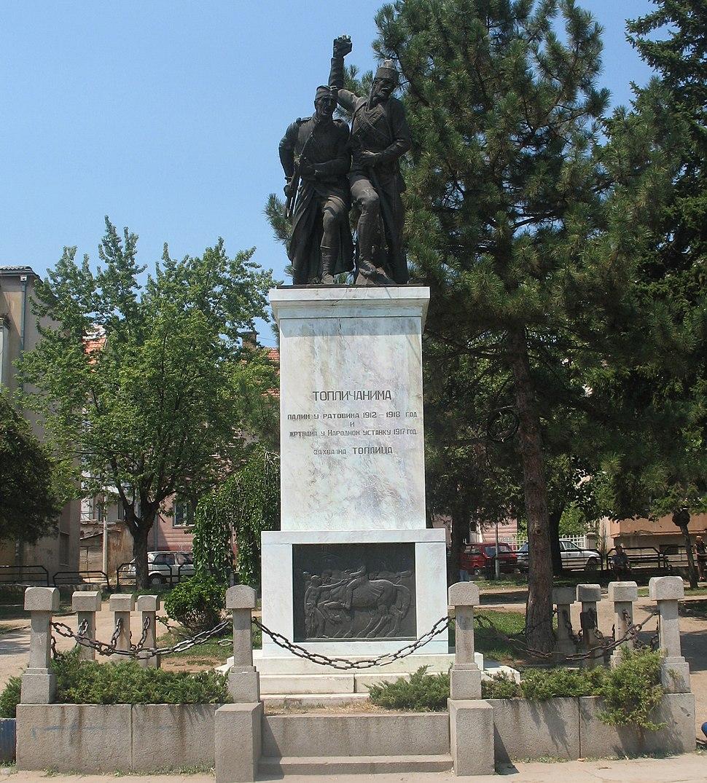 Toplički ustanak spomenik