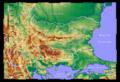 Topographic Map of Bulgaria Polish.png
