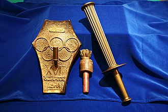 The Olympic Torch of Rome 1960 Torcia Olimpica Roma 1960.jpg