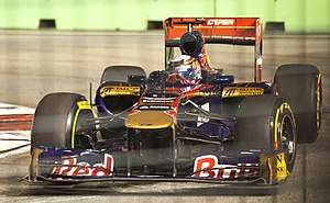 2011 Singapore Grand Prix - Sébastien Buemi qualified 14th.