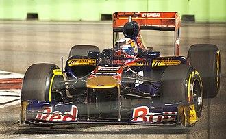 2011 Singapore Grand Prix - Sébastien Buemi qualified 14th.