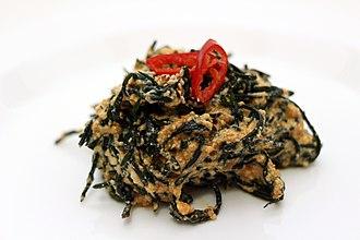 Hijiki - Korean tot-muchim (seasoned tot)
