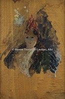 Toulouse-Lautrec - TETE DE FEMME, 1885, MTL.111.jpg