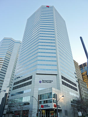 Raymond Chabot Grant Thornton - The head office of Raymond Chabot Grand Thornton is located in the National Bank Tower.