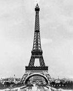 מגדל אייפל בפריז, 1889