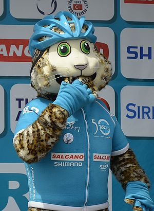 Presidential Cycling Tour of Turkey - Mascot Pardus.