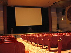 Tower Theatre (Fresno, California) - Theatre auditorium in 2007