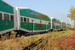 Trainspotting GO train -918 headed by MPI MP40PH-3C -609 (8123463588).jpg