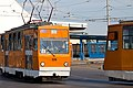 Tram in Sofia in front of Central Railway Station 2012 PD 015.jpg