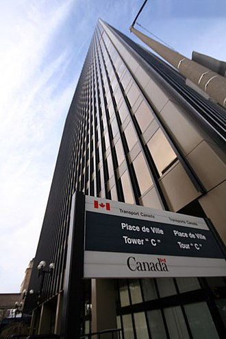 "Transport Canada - Place de Ville Tower ""C"", the headquarters of Transport Canada"