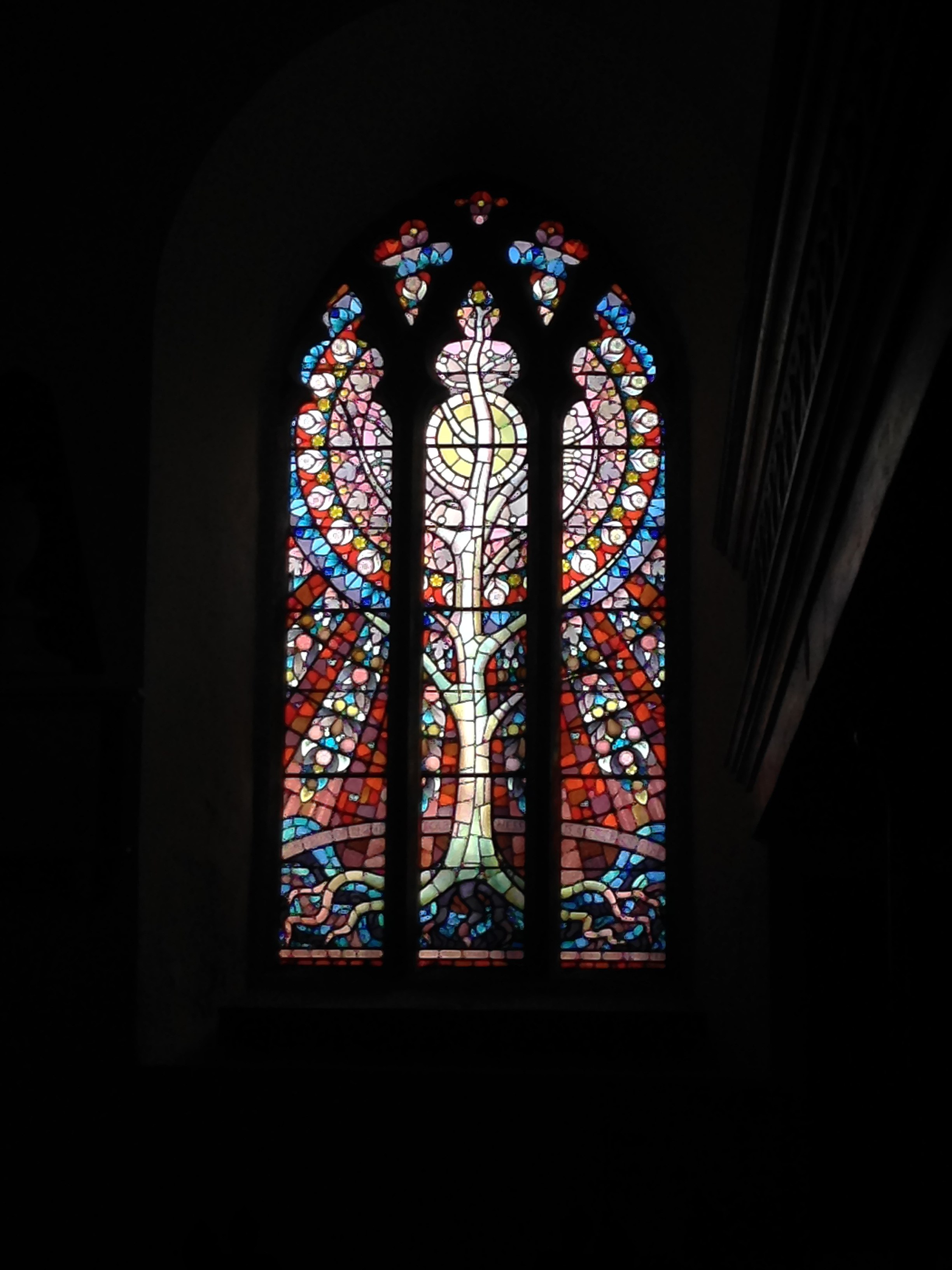 File Tree Of Life Stained Gl Window