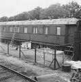 Treinbeambte woont in een treinwagon, Bestanddeelnr 901-7703.jpg
