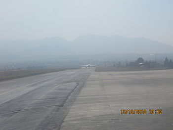 Tribhuvan International Airport (Nepali: त्रिभ...