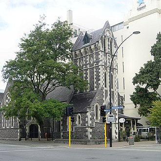 Kate Sheppard - Trinity Congregational Church, where Sheppard worshipped