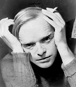 New Journalism - Truman Capote, as photographed by Roger Higgins in 1959.