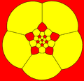 Truncated icosahedron stereographic projection pentagon.png