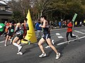 Tsukuba Marathon 2011 turning point.jpg