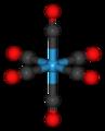 Tungsten hexacarbonyl 3D.png