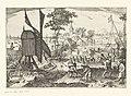 Turfsteken, ca. 1600 Beroepen in Noord-Holland (serietitel), RP-P-OB-77.525.jpg