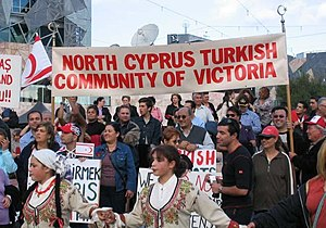 Turkish Cypriot diaspora - Turkish Cypriot community in Victoria, Australia.