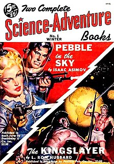 <i>Two Complete Science-Adventure Books</i> US pulp science fiction magazine