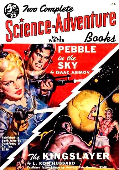 Two Complete Science-Adventure Books Winter 1950