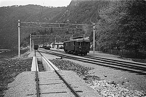 Hardanger Line - NSB Class 64 train at Granvin